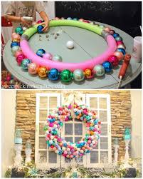 these giant wreath diys will make you smile pool noodles noodle