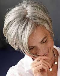 short haircuts women over 50 back of head grey short haircuts for women over 50 hairstyle ideas