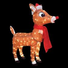 Lighted Outdoor Christmas Decorations by Rudolph Outdoor Christmas Decorations Christmas Decorations