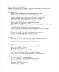 Food Runner Job Description For Resume by Table Busser Job Description 21 Sample Resume Food Server Job