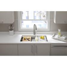 kohler kitchen sinks kitchen makeovers kohler vault apron front sink kohler kitchen