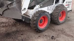 new bobcat skid steer s530 behind the levers youtube