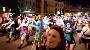 new orleans halloween parade 2016 part 2 youtube