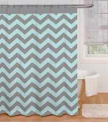 Aqua And Grey Curtains Shower Curtain In Aqua Grey Everything Turquoise