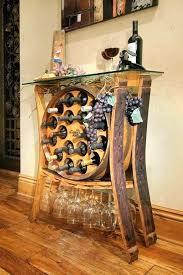 bar table with wine rack diy bar table pallet bar cart via my life diy outdoor bar table