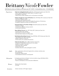Fashion Resume Templates Resume Examples For Fashion Retail Resume Ixiplay Free Resume