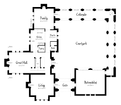22 amazing castle home floor plans on contemporary medieval house