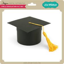 graduation box circle graduation hat box lori whitlock s svg shop