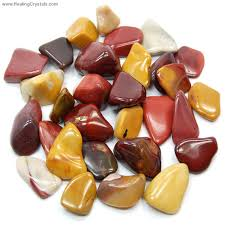 solar plexus crystals tumbled mookaite jasper australia tumbled stones mookaite
