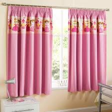 Kids Bedroom Blackout Curtains Nursery Blackout Curtains Pink Adeal Info