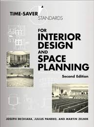 time saver standards for interior design and space planning ebook