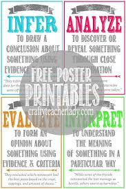 Best Room Posters Free Set Of Printable Critical Thinking Skills Posters Great For