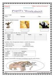 Silent Letters Worksheets Endangered Animals Worksheet Free Esl Printable Worksheets Made