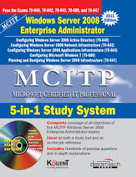 buy mcitp 5 in 1 study system windows server 2008 enterprise