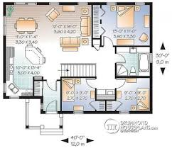 3 bedroom bungalow house designs house plan w3131 detail from