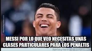Memes Sobre Messi - memes y burlas del penal fallado de messi en la liga bbva 2015