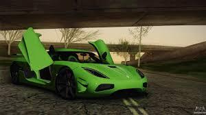 koenigsegg green koenigsegg agera color interior for gta san andreas