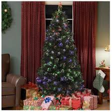 7 foot pre lit fiber optic christmas tree with stand u2013 bobbie jo u0027s