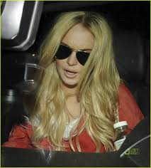lindsay lohan blonde hair for a new start photo 2453808