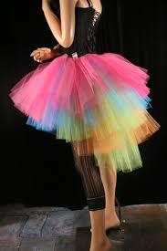 ringmaster halloween neon ring master tutu skirt huge poofy costume rainbow