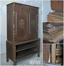 Painted Armoire Furniture Milk Painted French Country Armoire Salvaged Inspirations