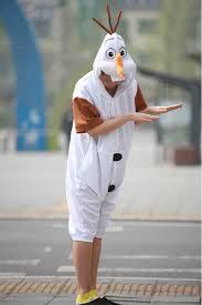 frozen olaf onesie disney pajamas 4kigurumi