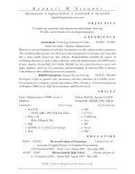sle resume for system administrator 28 images test
