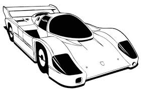 free printable race car coloring pages american muscle sport