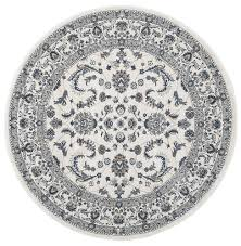 aisha oriental round rug white white u2013 home floors
