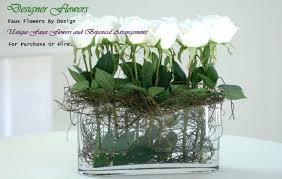 cheap flower arrangements floral arrangements silk ideas faux cheap centerpieces
