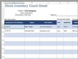 inventory template pack meylah