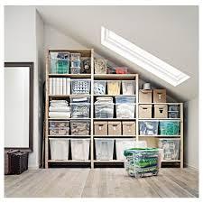 ivar 3 section shelving unit 102x19 5 8x89