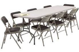 party chairs and tables for rent great party productons
