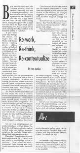 re work re think re conceptualize ivan jurakic cultural debris