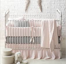 Pink And Gray Crib Bedding Crib Bedding If Money Were No Object Co