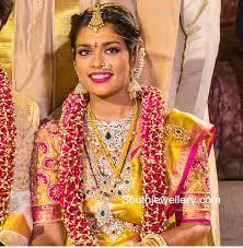 wedding jewellery chiranjeevi sreeja wedding jewellery jewellery designs