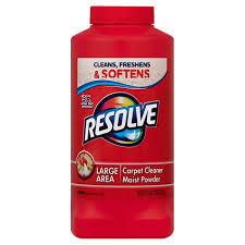 resolve carpet cleaner powder 18 oz bottle for dirt u0026 stain