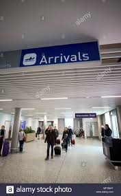bristol airport bureau de change arrivals airport stock photos arrivals airport stock images alamy