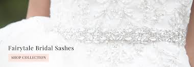 Wedding Sashes Crystal U0026 Pearl Bridal Boutique Wedding Accessories With A