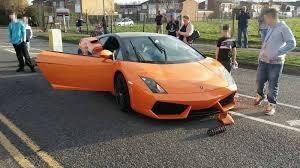 lamborghini crash driver u0027laughs off u0027 crashing his 250 000 lamborghini central