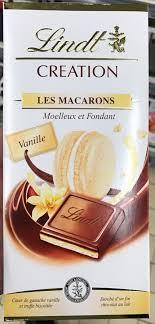 cuisine et creation creation les macarons vanille lindt 150 g