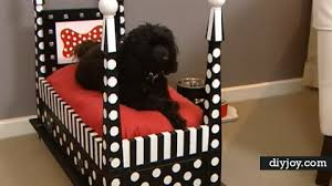 end table dog bed diy amazing upcyle diy end table dog bed