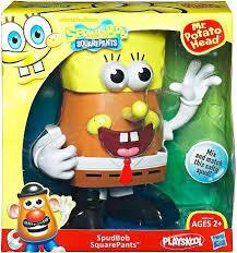 Potato Head Kit Disguise Spongebob Squarepants Spudbob Squarepants Potato Head