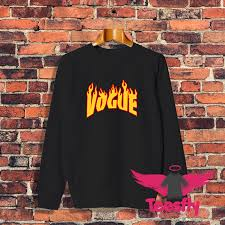 flame vogue personalized sweatshirt cheap teesfly com