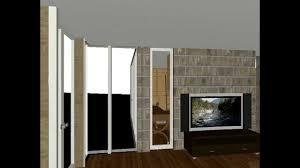 adams usonian floor plan walkthru avi youtube