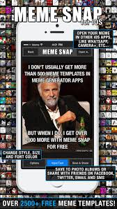 Meme Maker Apps - meme snap 2500 free meme templates in picture memes generator