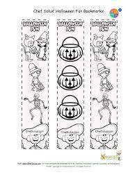 holidays 10 printable bookmark halloween coloring kids