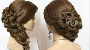 bridal hairstyles bridal hairstyle with curls for hair tutorial