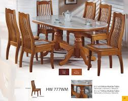 modern asian design solid wood dining table u0026 chairs with natural