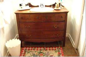 vanities antique dresser into bathroom vanity a dresser